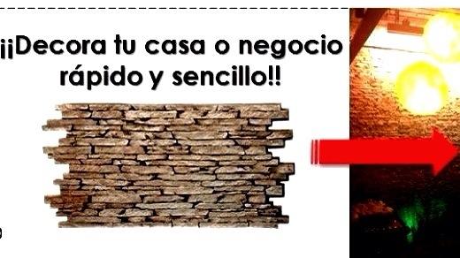 Muros decorativos panel piedra tattoo design bild - Muros sinteticos decorativos ...